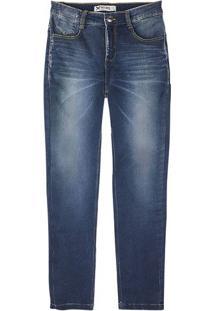 Calça Jeans Masculina Hering Em Moletom Denim