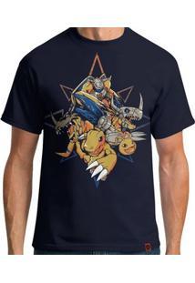 Camiseta Agumon - Masculina