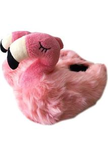 Pantufa Riicsen De Flamingo Rosado