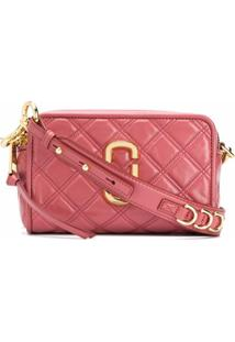 Marc Jacobs Bolsa The Quilted Snapshot - Vermelho