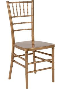 Cadeira De Jantar Casa Grande Dourada