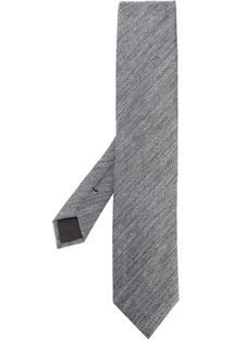 Tom Ford Gravata Com Padronagem - Grey