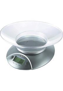 Balança Digital De Cozinha Brasfort 7550 Cinza