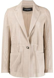 Simonetta Ravizza Blazer Betty Amplo - Neutro