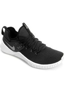 Tênis Nike Free Metcon Masculino - Masculino-Preto+Branco