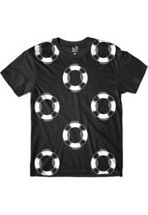 Camiseta Long Beach Náutica Bóias Sublimada Masculina - Masculino