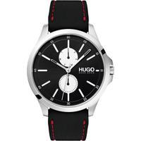 ac175a8ebf1 Relógio Hugo Boss Masculino Couro Preto - 1530001