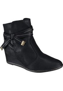 Bota Anabela Bebecê Ankle Boot