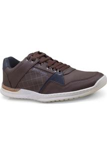 Sapatenis Masc Ped Shoes 16020-B Cafe