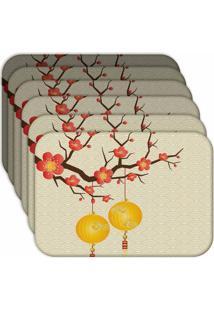 Jogo Americano - Love Decor Chinese Kit Com 6 Peças