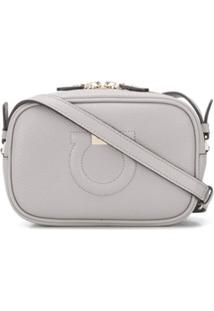 Salvatore Ferragamo Gancini Cross-Body Bag - Cinza