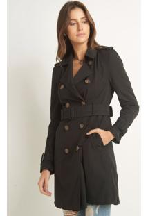 Trench Coat Nathalia Preto