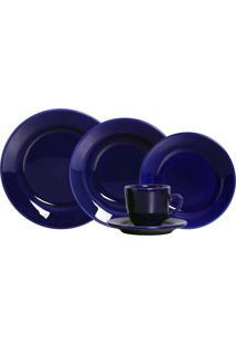 Aparelho De Jantar Standard 20 Peças - Scalla - Azul Royal