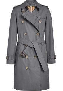 Burberry Trench Coat The Kensington Heritage - Cinza