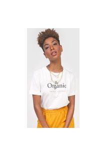 Camiseta Colcci Organic Off-White