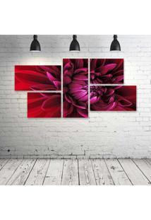 Quadro Decorativo - Windows--Flower - Composto De 5 Quadros - Multicolorido - Dafiti