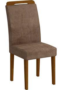 Cadeira Athenas - Rufato - Imbuia / Chocolate