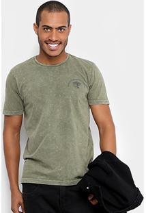 Camiseta Local Estampada Estonada Masculina - Masculino