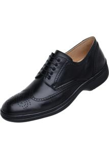 Sapato Jacometti Long Time Sc08 Preto