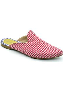 Sapatilha Dr Shoes Casual Feminino - Feminino-Vermelho