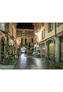 Jogo Americano Decorativo, Criativo E Descolado | Paisagem Em Como Na Itália - Tamanho 30 X 40 Cm