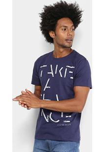 Camiseta Manga Curta Sommer Estampada Take A Chance Masculina - Masculino