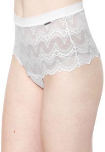 Calcinha Calvin Klein Underwear Hot Pant Las Palmas Branca