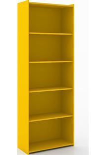 Estante Com 4 Prateleiras Retrô 201 - Movelbento - Amarelo