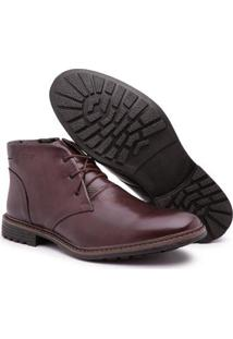 Bota Top Franca Shoes Masculino - Masculino-Marrom