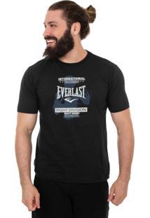 Camiseta Everlast Fight Division Preto