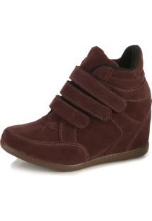 24ce7548b22 Sneaker Branco Camurca feminino