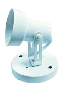 Luminária De Teto Para 1 Lâmpada E27 9158 Branca Ol