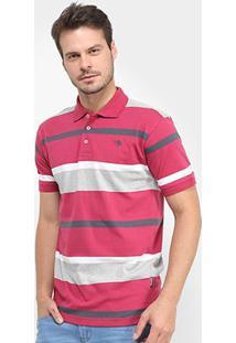 Camisa Polo Gajang Listrada Euro Atenas Masculina - Masculino-Vinho