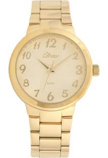 Relógio Condor Co2036Kov/4D Dourado