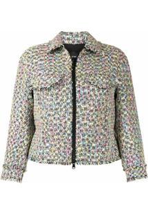 Emporio Armani Jaqueta De Tweed - Colorido
