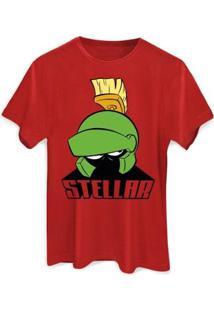Camiseta Masculina Looney Tunes Stellar - Masculino-Vermelho