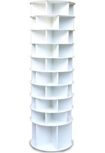 Sapateira Giratória Multidecor Com Divisória Para Botas 2,25M Branca