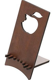 Porta Celular Maçã Quartzo 8,5X9X18 Cm 12710