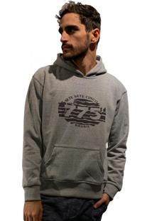 Casaco Moletom 775 Zebra - Mescla