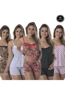 Baby Doll Thaís Kit Com 5 Liganete