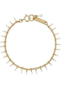 Isabel Marant Casablanca Chain Bracelet - Branco