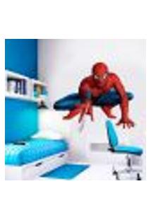 Adesivo De Parede Infantil Herói Homem Aranha Mod. 5 - Grande