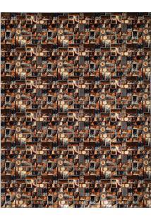 Tapete Marbella Da Vinci Retangular (150X200Cm) Preto E Creme