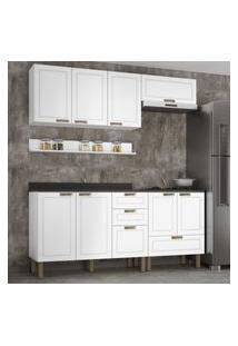 Cozinha Completa 6 Peças Americana Multimóveis 5914.1 Branco