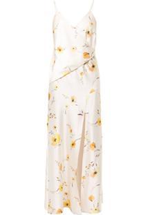 Bec + Bridge Vestido Envelope Colette Com Estampa Floral - Amarelo