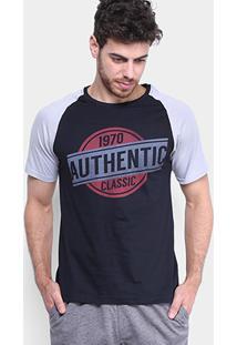 Camiseta Burn Authentic Masculina - Masculino