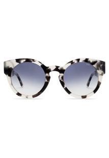 Óculos De Sol Livo Eyewear Leah Solar Demi Branco Branco