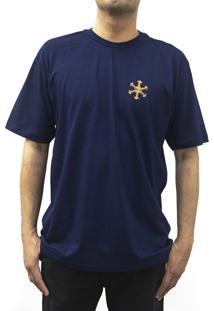 Camiseta Snoway Degrade Marinho