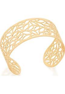 Bracelete Rommanel De Folhas - Feminino