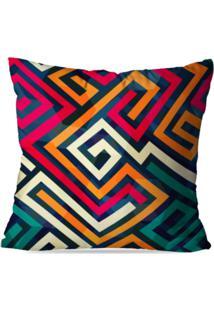 Capa De Almofada Love Decor Avulsa Color Abstrato Multicolorido